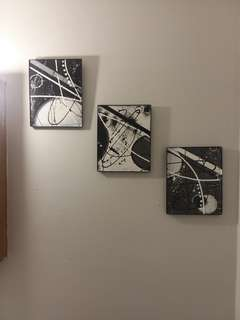 Original Abstract Acrylic Paintings