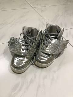 Adidas Silver Wing Designer Shoes