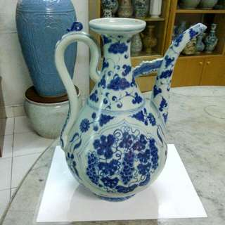 Ceramic Porcelain Ewer Antique Antik 11