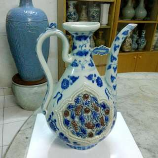 Ceramic Porcelain Ewer Antique Antik 12