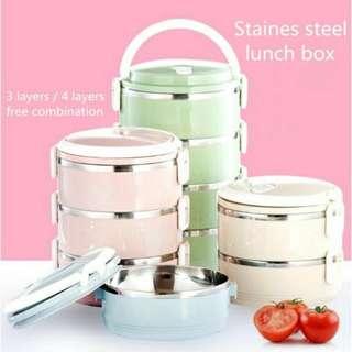 Tiffin / Mangkuk Tingkat Stainles Steel