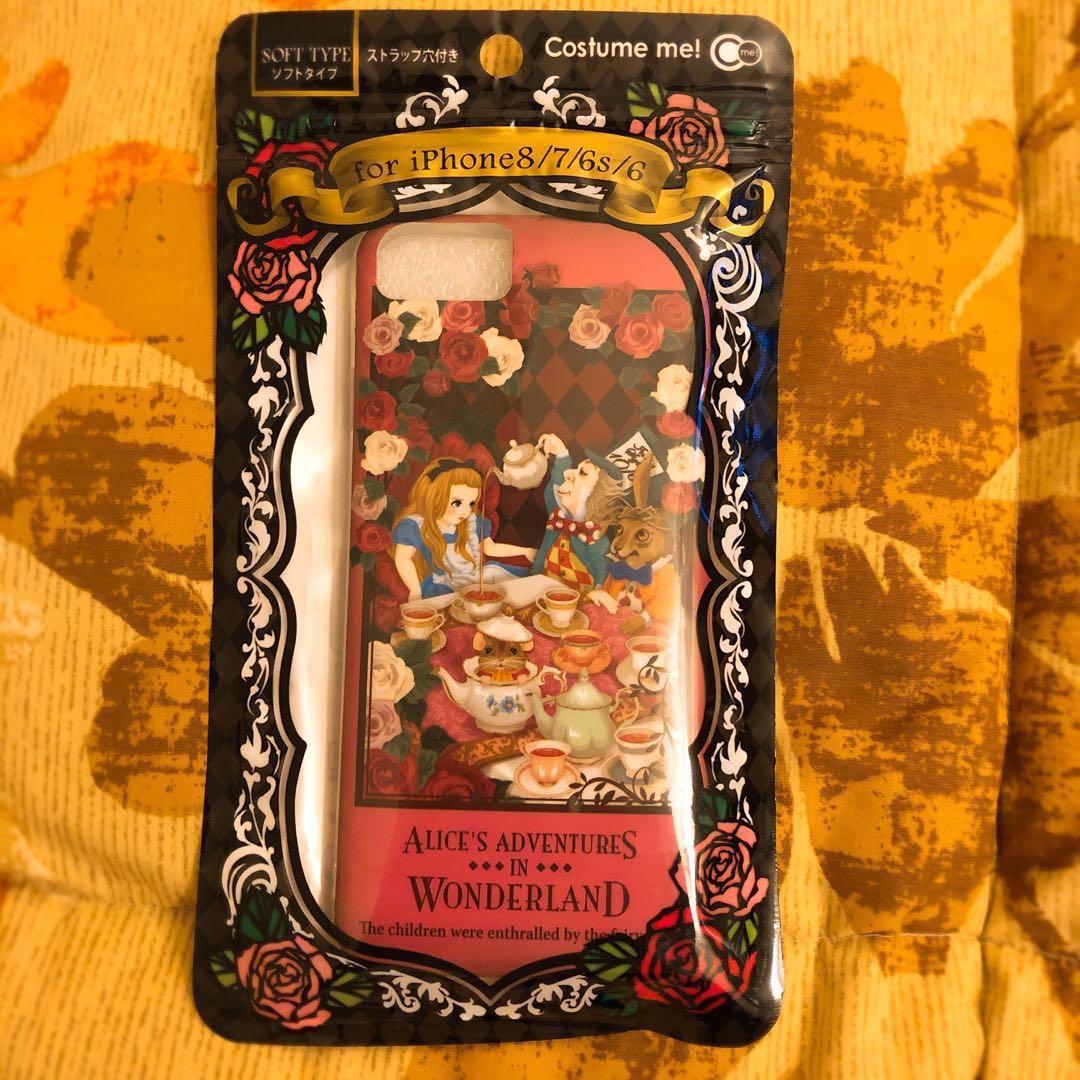 日本購入 iPhone 8/7/6s/6 手機軟殼Alice's Adventures in wonderland