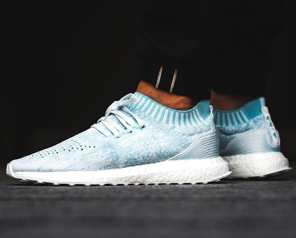 31748990007d7 Adidas Ultra Boost Uncaged Parley   Ice Ocean Blue