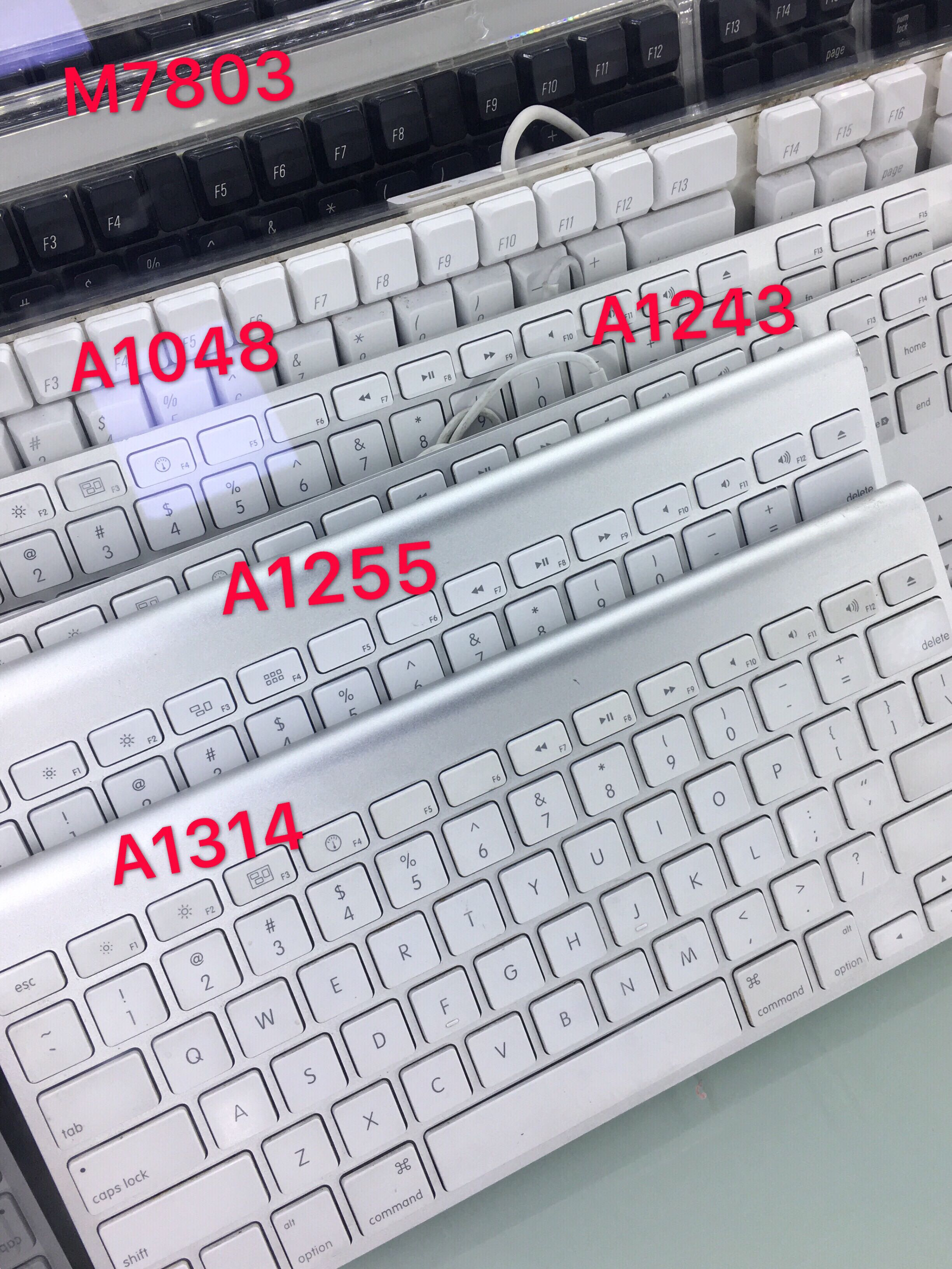Apple Wired/Wireless Keyboard A1314 A1255 A1243 A1048, Electronics ...