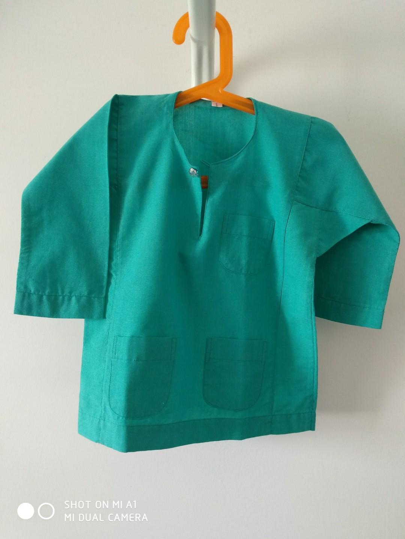 Size 1 Baju Melayu Baby Hijau Petronas Babies Kids Arel On Carou
