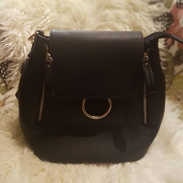 Black convertible bag