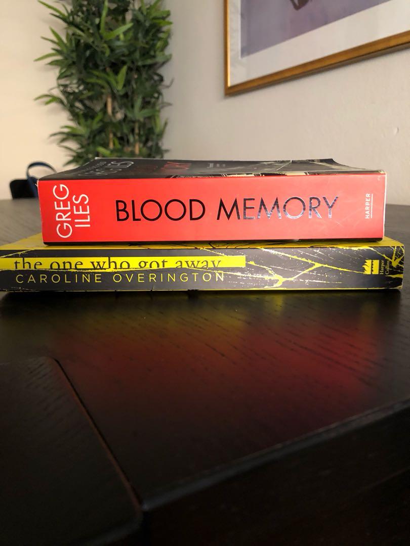 Books $5 each
