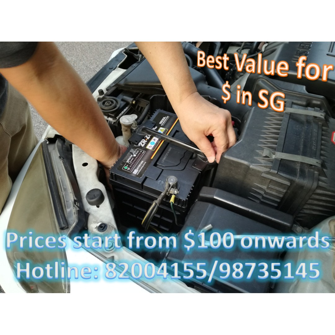 Car Battery Replacement with Warranty