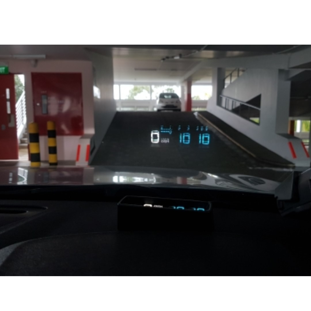 Car HUD Heads Up Display Firm Price Car Accessories On Carousell - Car display