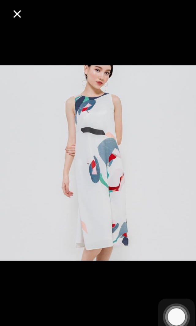 f70621a9ec14 Danityroses oakawa midi white floral slip dress, Women's Fashion ...