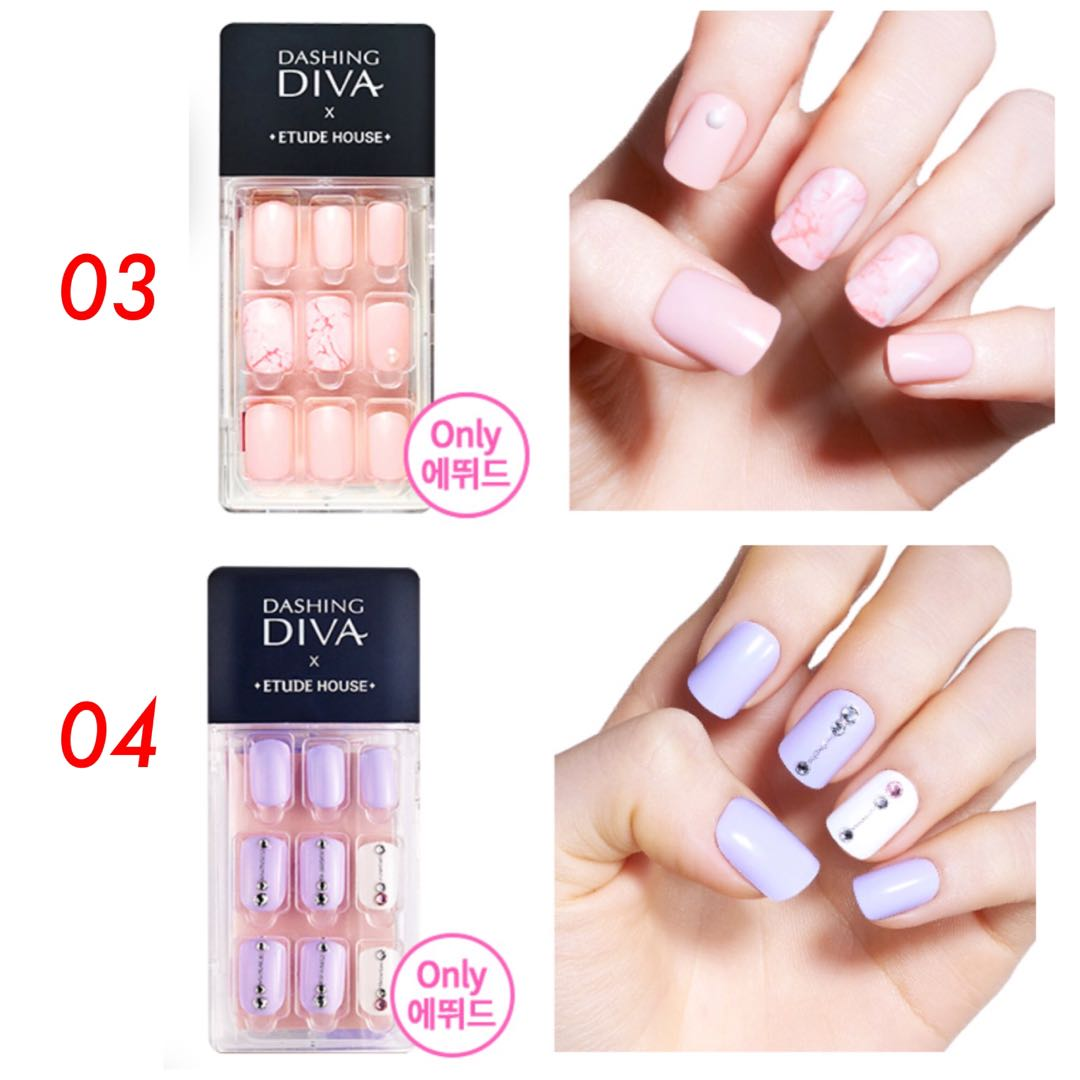 Nice Dashing Diva Nail Stickers Embellishment - Nail Art Design ...