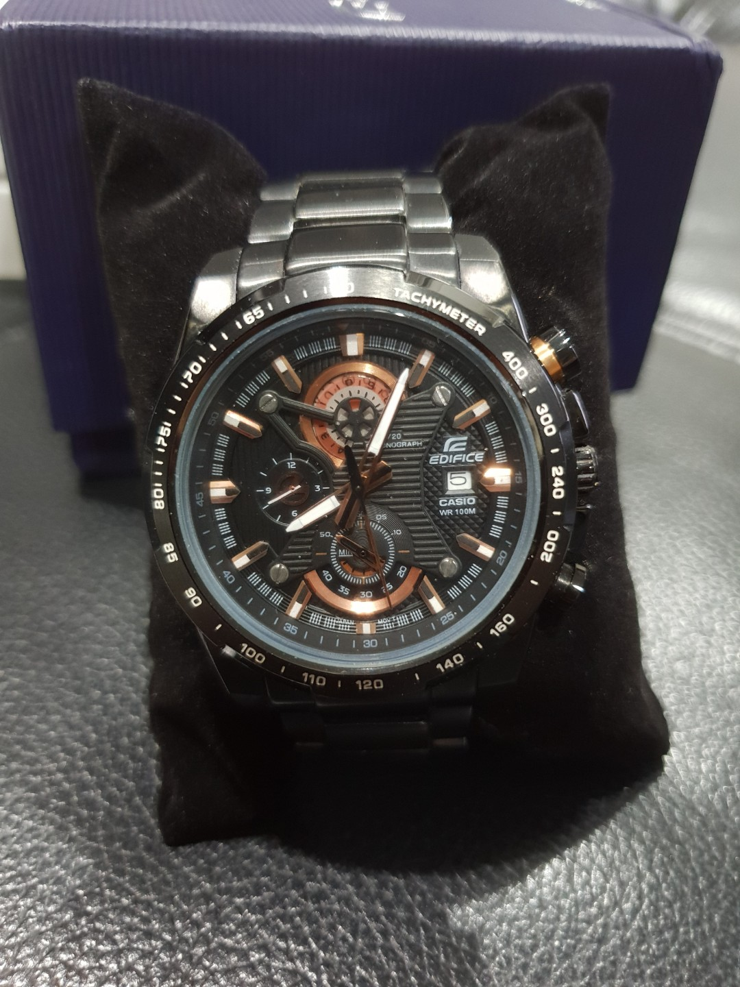 Edifice Casio Mens Watch Efr 523 Fashion Watches On Carousell Ef 534rbk 1a