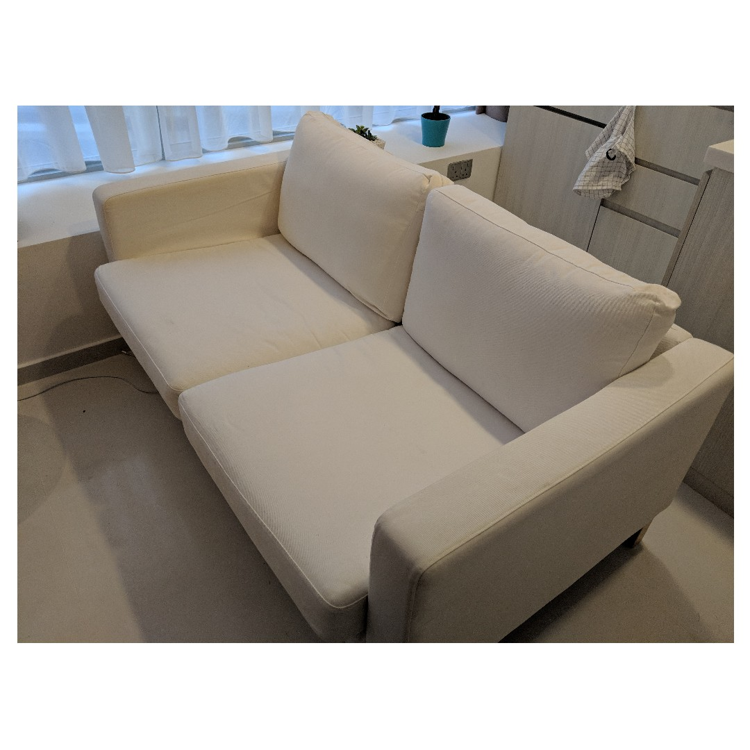 Price Drop Ikea Karlstad White Extra Cover Furniture Sofas On