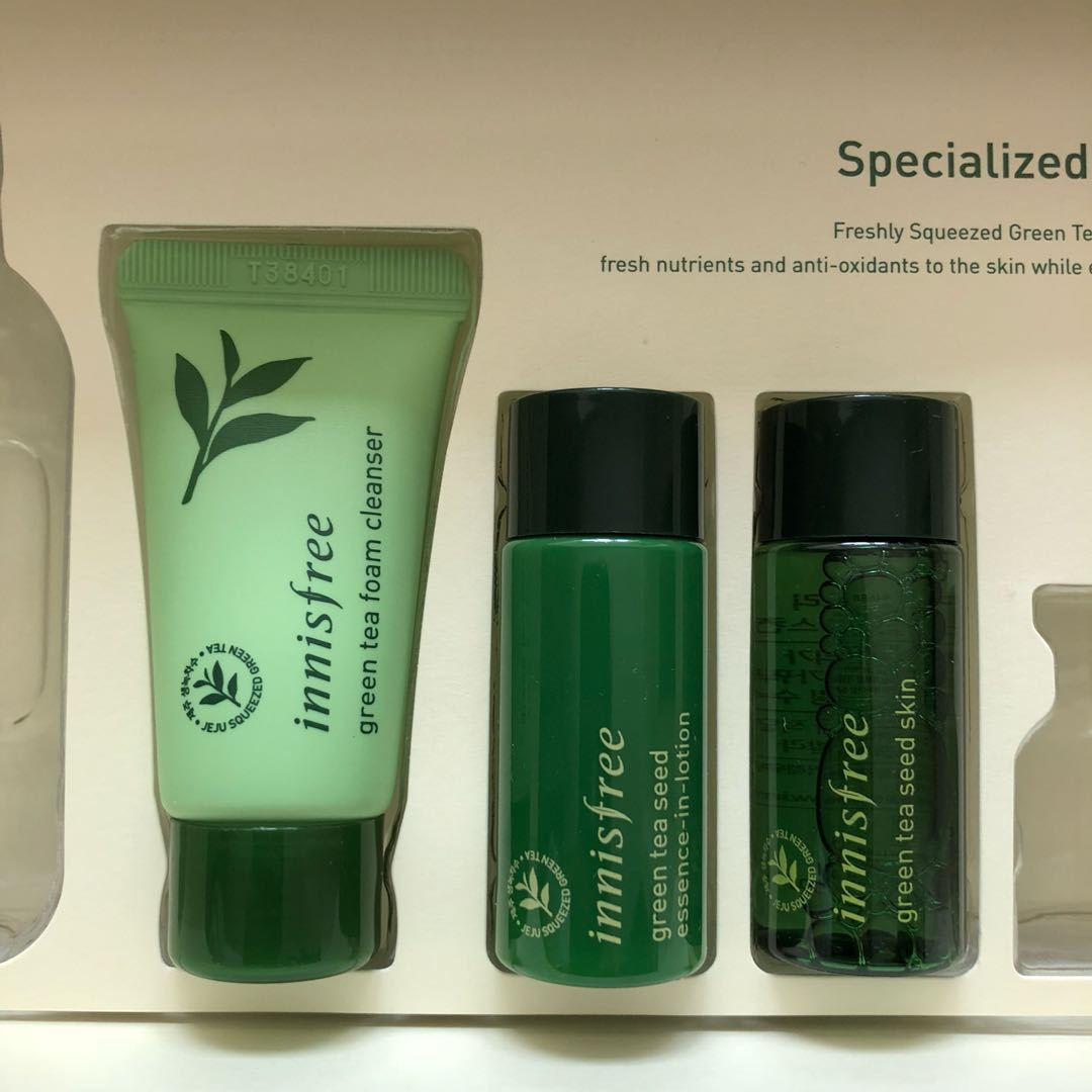 a1b45bfad58 Innisfree Green Tea Seed Signature set