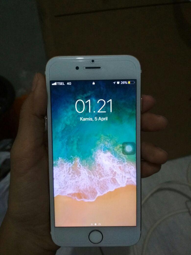 Iphone 6 64gb Gold Fullset Cod Jakut Elektronik Telepon Seluler Di