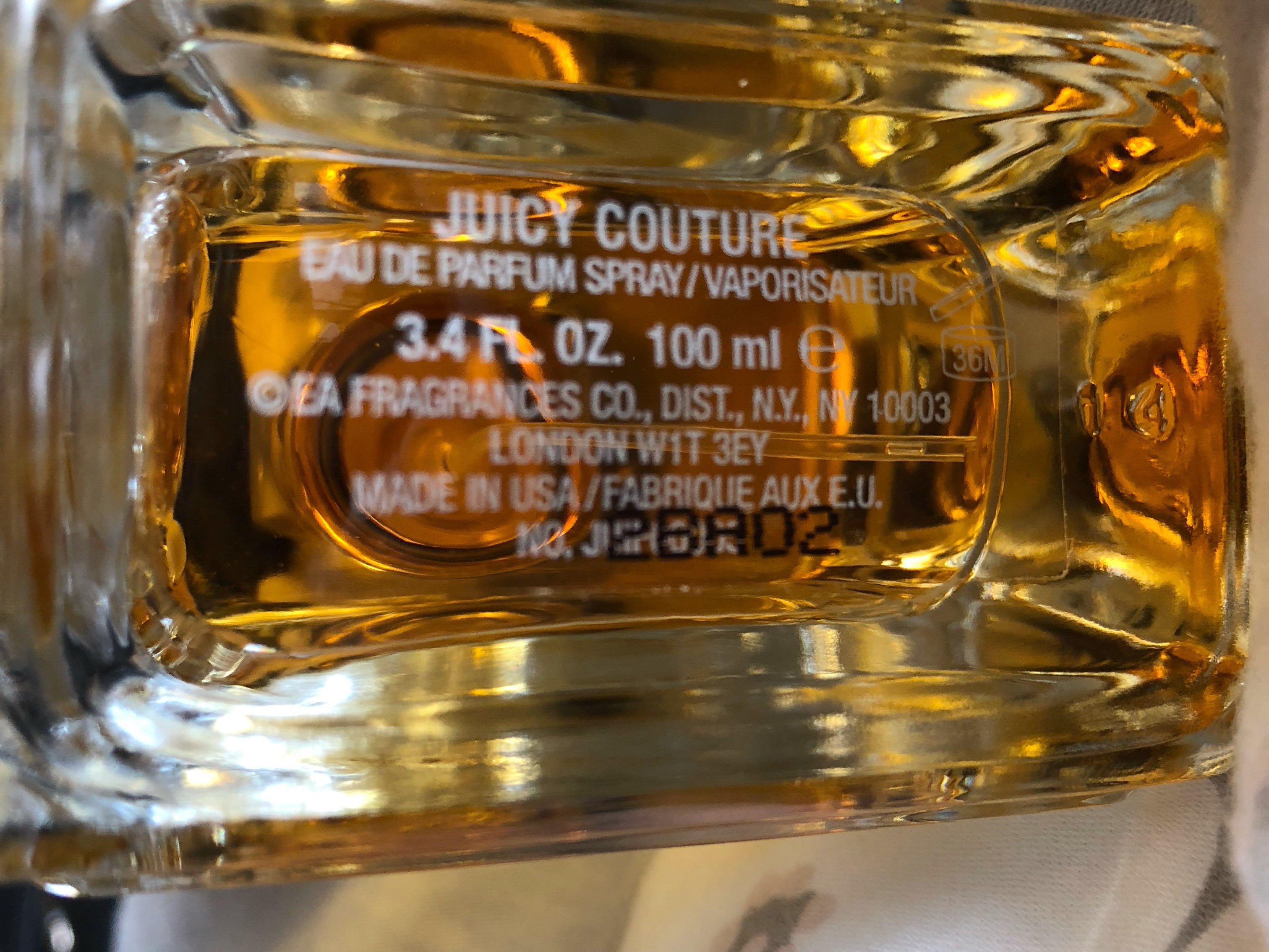 Juicy Couture 100ml Perfume (W/O Box)