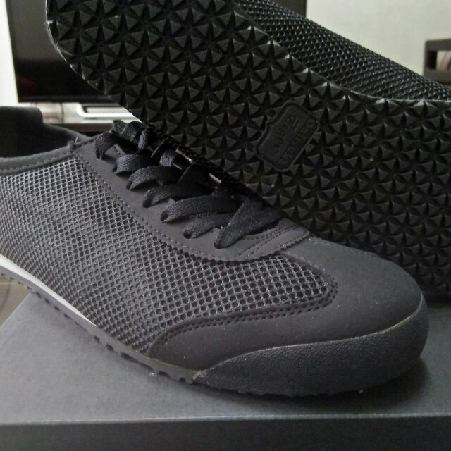 new styles a1ce9 6bb3b Onitsuka Tiger Mexico 66 Mesh Black on Carousell