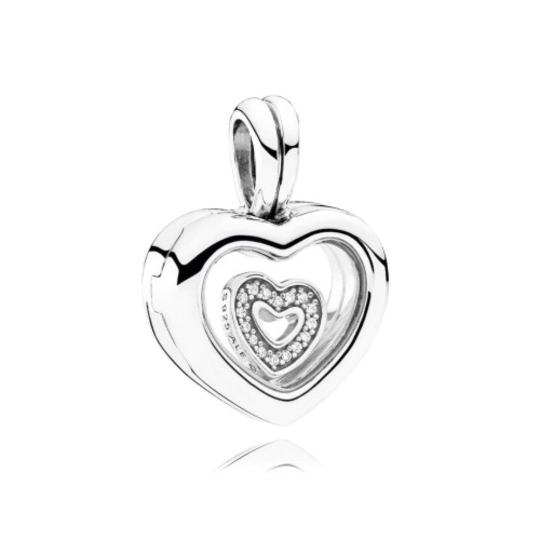 Pandora Floating Heart Locket