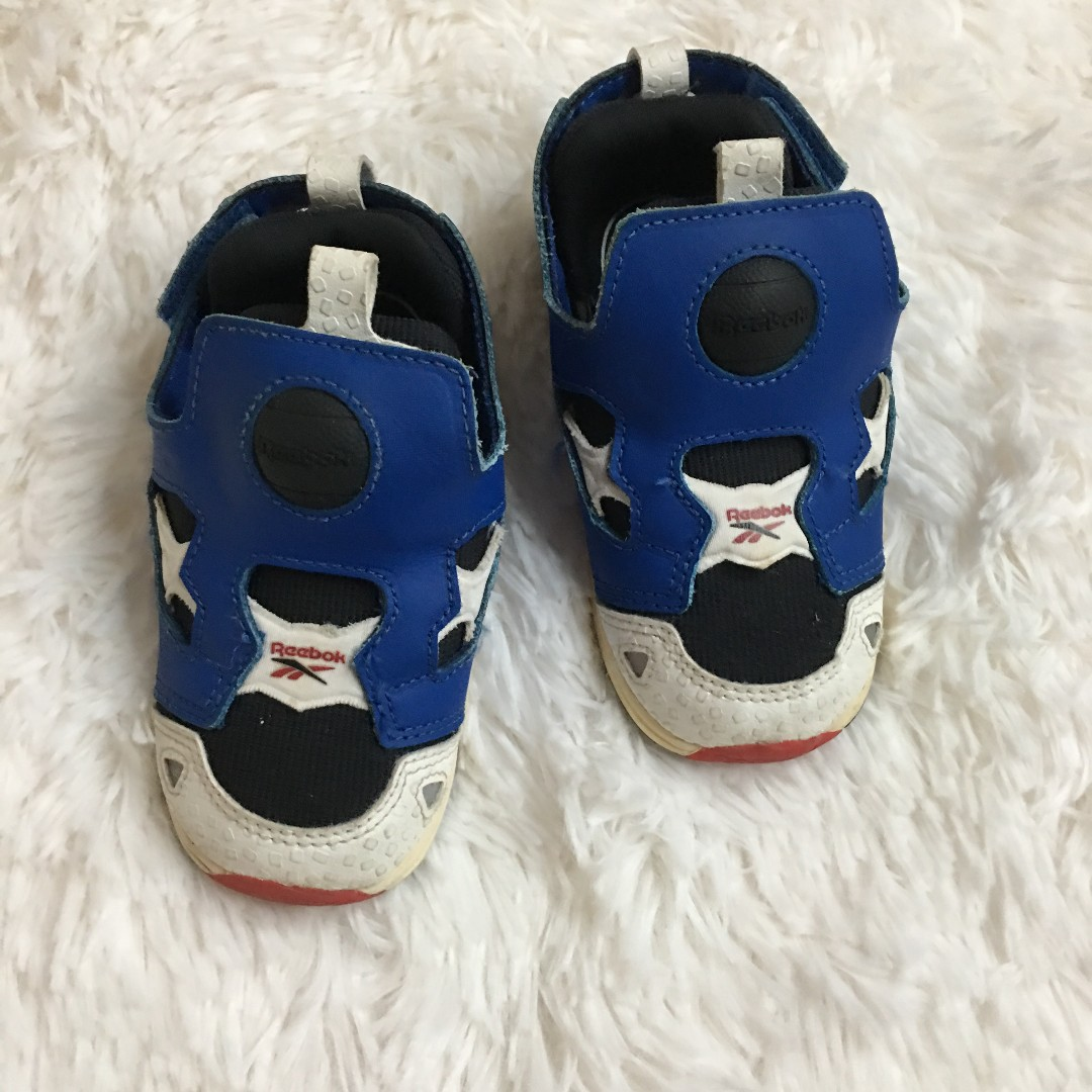 3abf1be4 PL] Children Kids Toddler Reebok Shoes Footwear Sneakers Red White ...