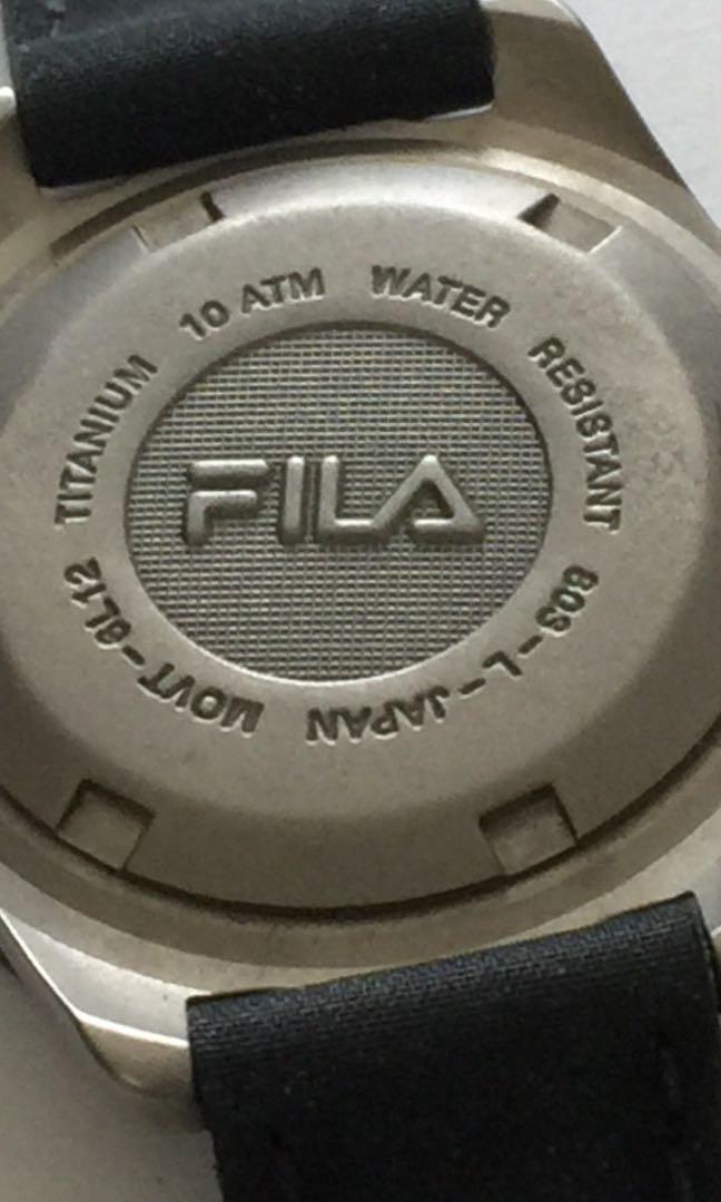 d629447d358c Preowned FILA Women s Titanium Watch