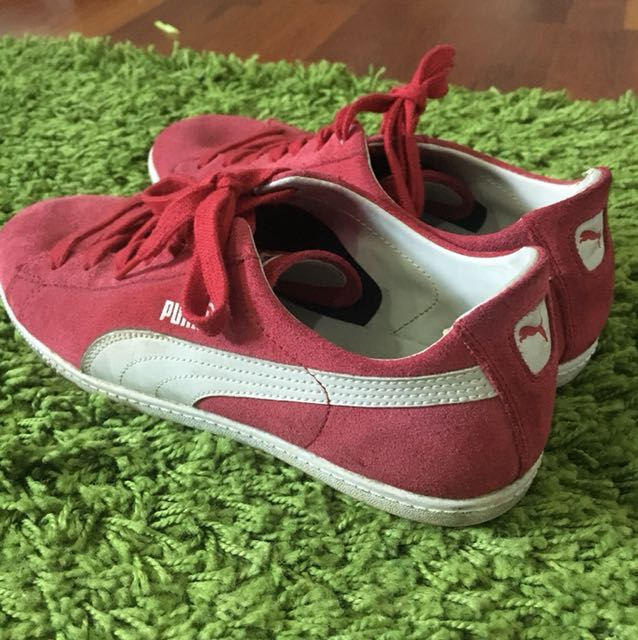 original Women Suede Red Sneakers Ortholite Women's Puma Eco T1qIwY