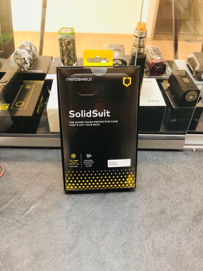 buy online dce1e c9653 Rhinoshield solidsuit pixel 2 xl
