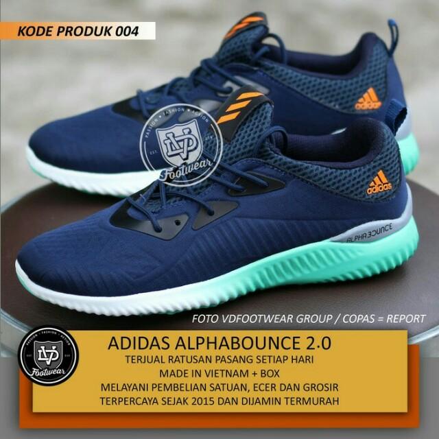 Terbaru 2018 adidas ALPHABOUNCE 44ca538981