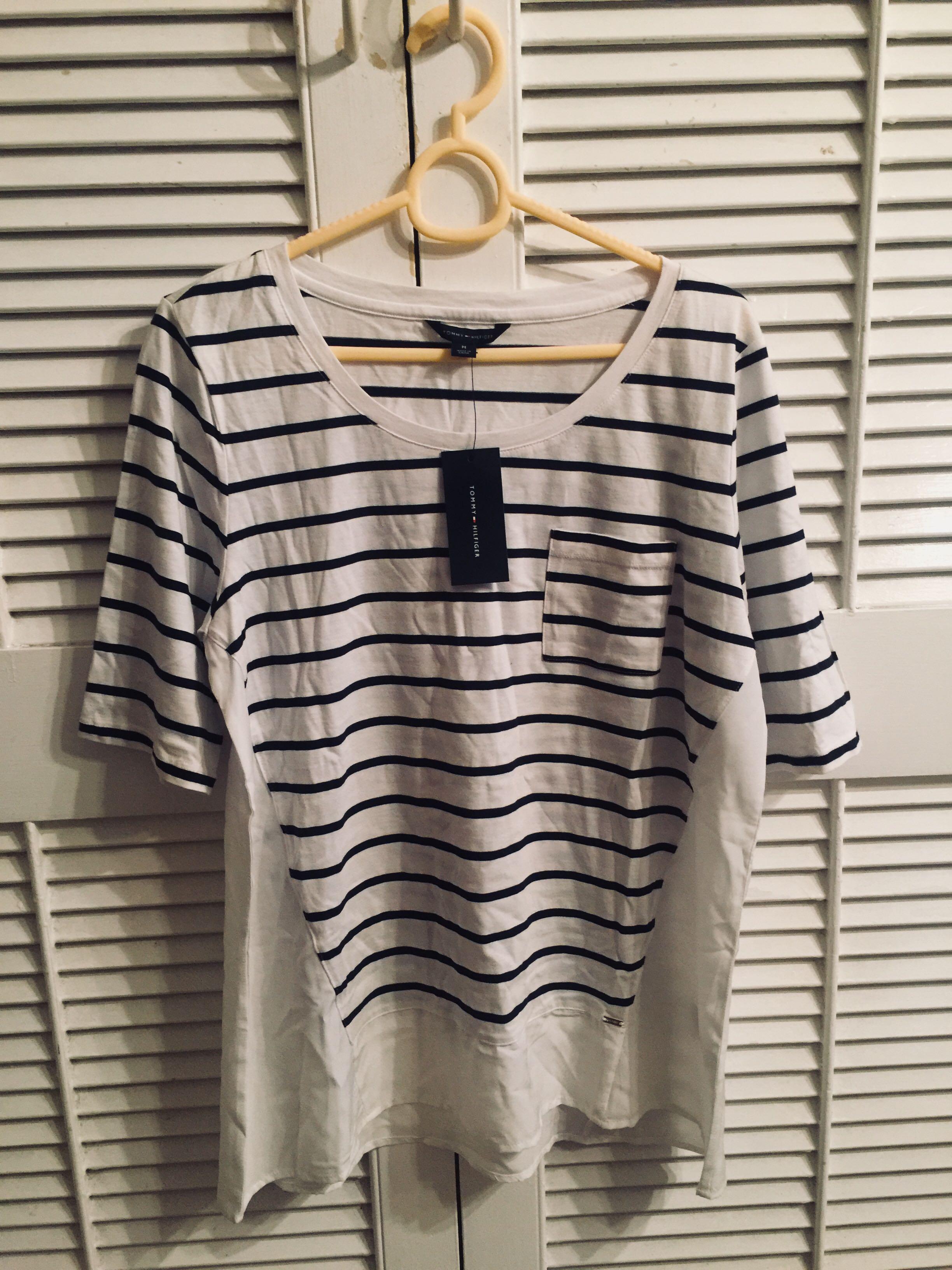 Tommy Hilfiger stripe top (size M)
