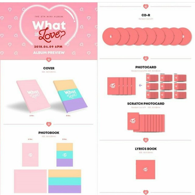 Twice Unsealed What is Love Album, Entertainment, K-Wave on