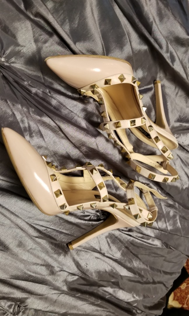 Valentino rock studded heels (replica)