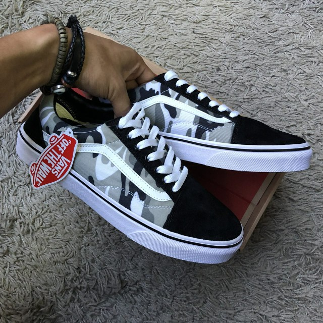 795848ca36 Vans Old Skool Camo