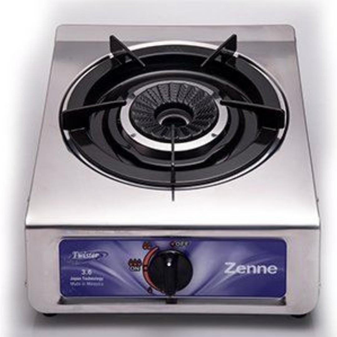 Zenne Single Burner Gas Stove Cooker Kgc11c Kitchen Liances On Carou