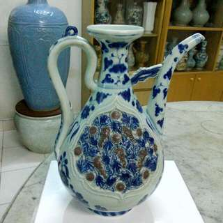 Ceramic Porcelain Ewer Antique Antik 13