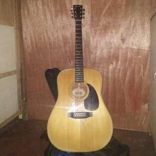 RUSH!!! Morris W-20 Acoustic Guitar w/ OEM Fishman Preamp