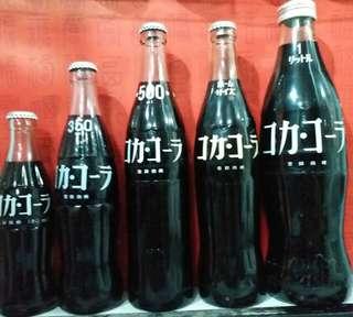日本可口可樂Coca Cola 白字樽系列