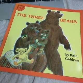 🚚 三隻小熊-英文版繪本(平裝)