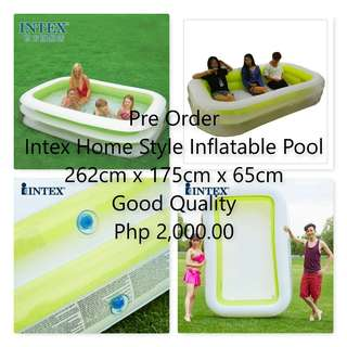 Intex Homestyle Inflatable swimming pool