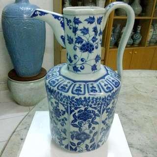Ceramic Porcelain Ewer Antique Antik 15