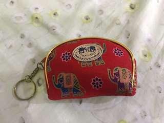 🚚 泰國 大象圖騰 零錢包
