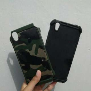 [REPRICE] Soft + hard case armour army oppo a37/neo 9