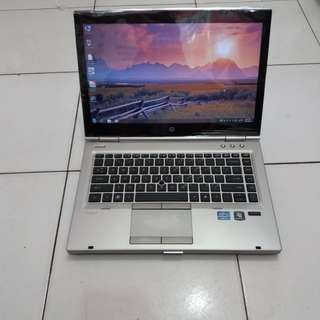 Laptop Hp 8460 i5 gen2 Layar 14 inc/Camera