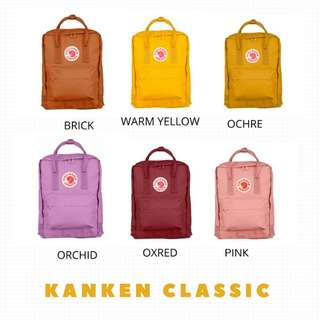 AUTHENTIC Fjallraven kanken Classic