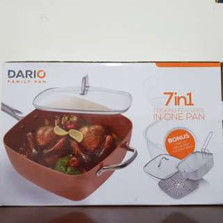 Dario Family Pan, Alat Masak Serbaguna, Fry Pan, Teflon