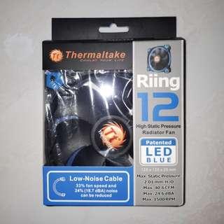 Thermaltake Riing 12 LED Blue High Static Pressure fan