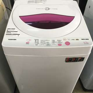 Toshiba 6.5kg Washing Machine Mesin Basuh Auto Recon