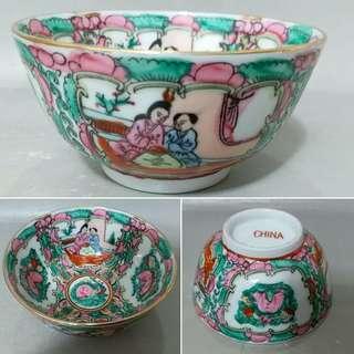 廣彩碗(CHINA)