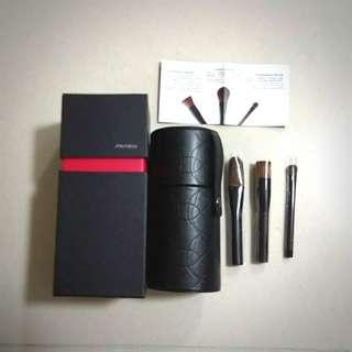 全新 shiseido 迷你掃 套裝 粉底掃 胭脂掃 眼影掃 化妝掃 #MTRkt