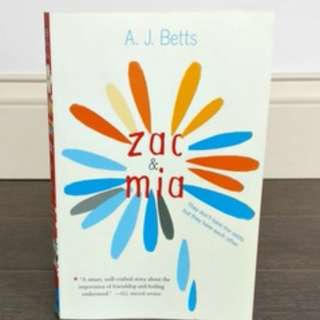 Zac and Mia by A. J. Betts (HARDCOVER)