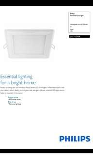 12 watt Philips down light