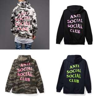 Assc Hoodies - Frozen / Beverly / Ez Jacket / navy seal